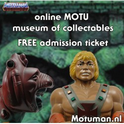 FREE admission ticket to the online MOTU museum